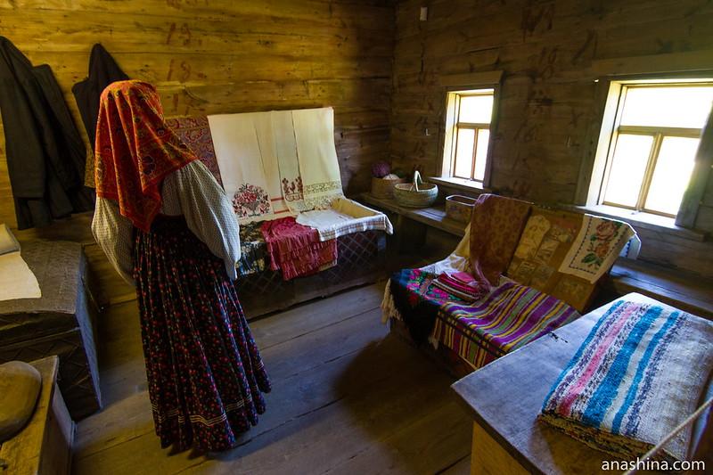 Клеть, Музей деревянного зодчества, Суздаль