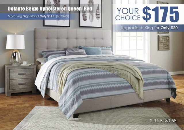 Dolante Beige Upholstered Bed_B130-582-B070-92-Q329_Special