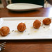 Chevre Croquettes, Laura Chenel's Goat Cheese, Lavender Honey ($4 half-order)
