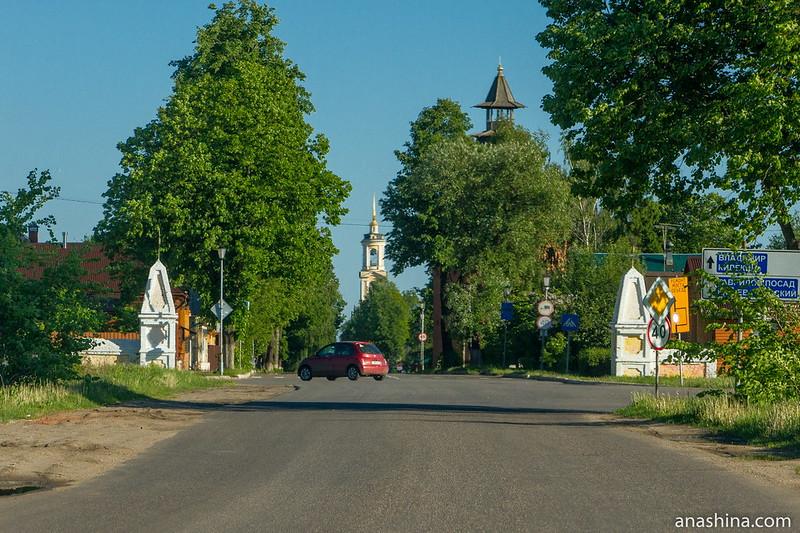 Ивановская застава, Суздаль