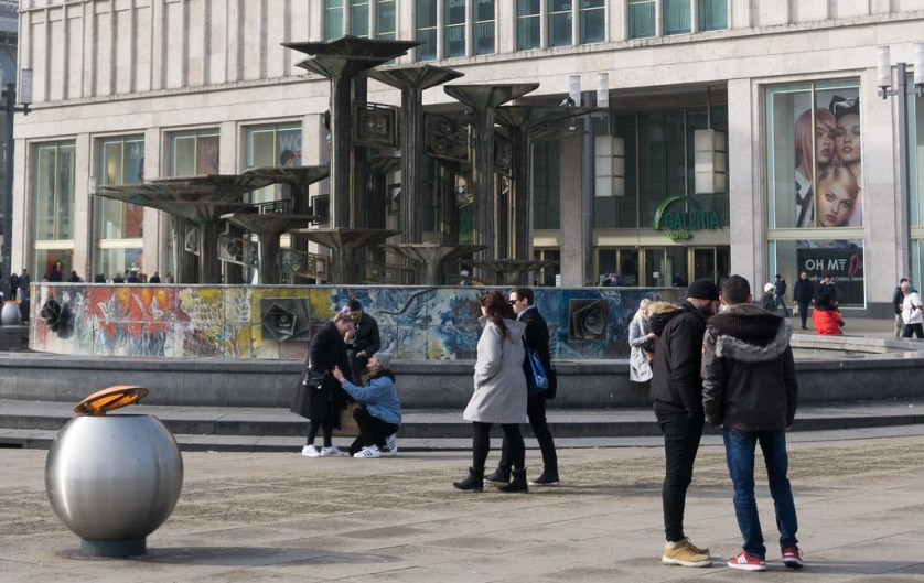 Fountain of International Friendship - AirBnB Experience - Walking Tour with a Journalist to Discover East Berlin, March 2018