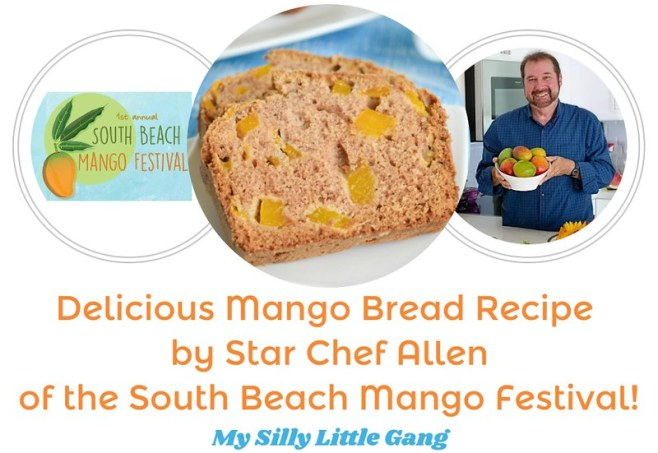 Delicious Mango Bread Recipe by Star Chef Allen of the South Beach Mango Festival