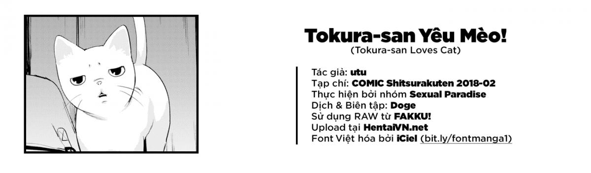 Hình ảnh  trong bài viết Tokura-san Loves Cat