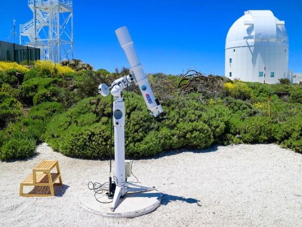 Telescopio en Tenerife