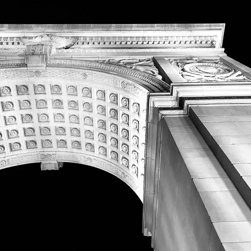 Washington Square Arch by DJ Lanphier