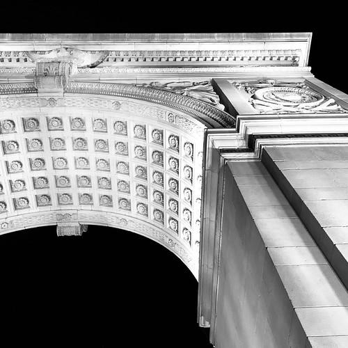 Washington Square Arch by DJ Lanphier