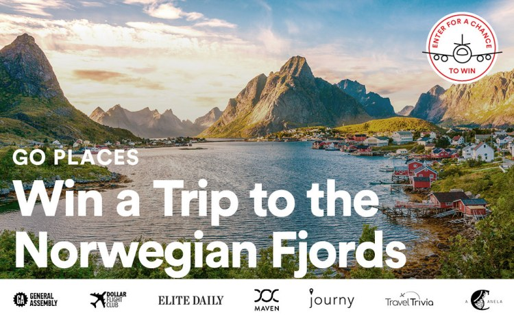 Win a 4-night Norwegian adventure from Journy!