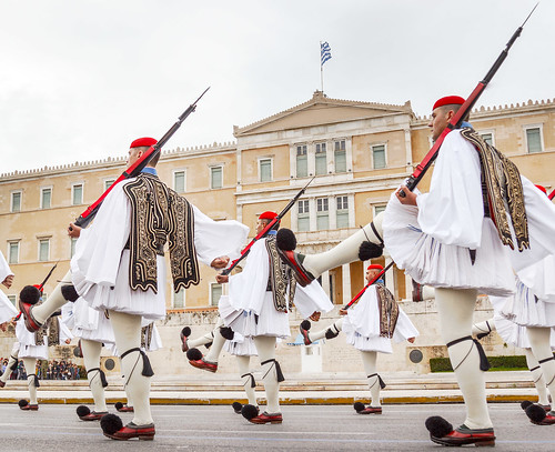 The Changing of the Guards | Athens, Greece