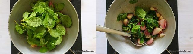 mint onion chutney 3