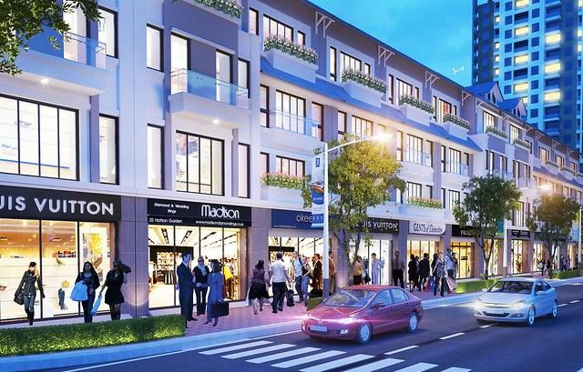 Đầu tư Shophouse dự án Charmignton Iris cho thuê