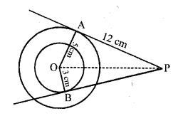 Answers Of RD Sharma Class 10 Chapter 10 Circles