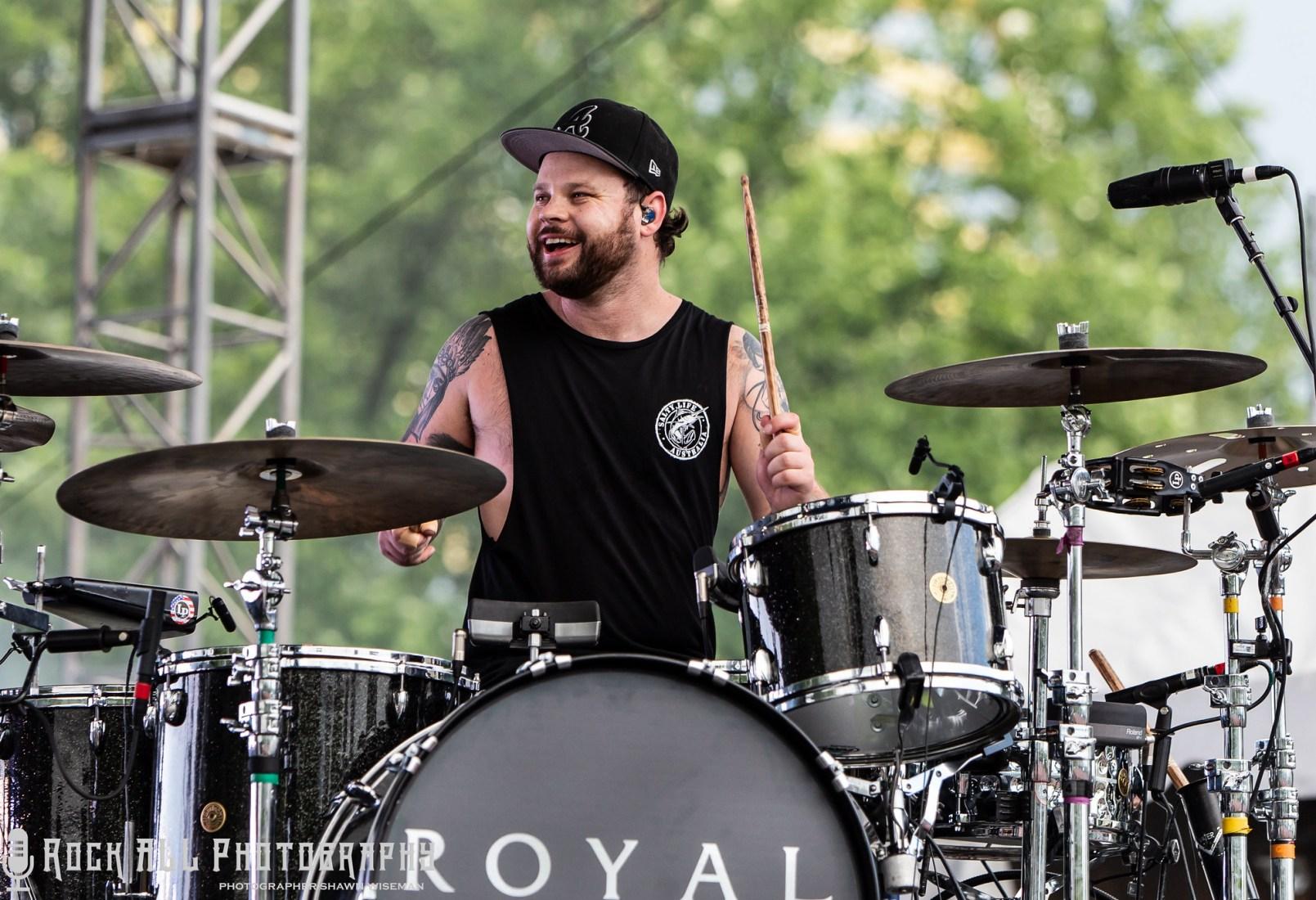 ROYAL BLOOD - Bunbury Music Festival 2018 - 6/2/18 - Cincinnati Ohio