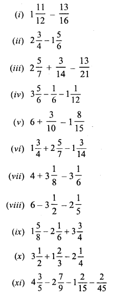 Selina ICSE Maths Class 6 Solutions-fractions-C-2