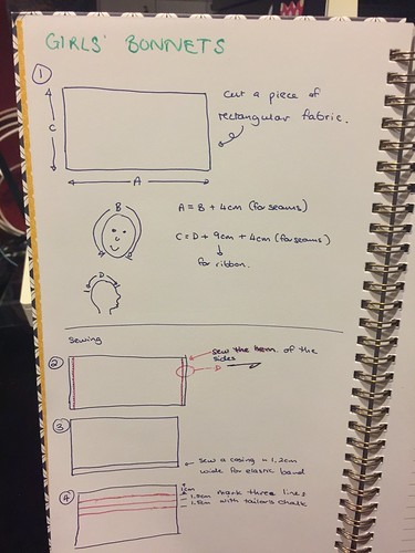 DIY Bonnet instructions