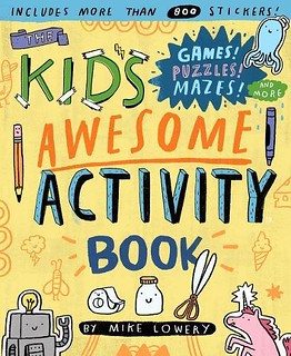 Kid's Awesome Activity Book Giveaway