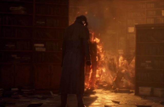 पिशाच - प्यार जल रहा है