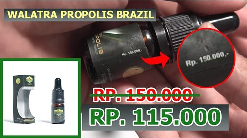harga walatra propolis brazil obat gondok beracun