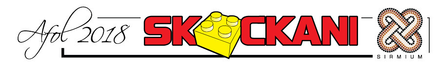 Skockani AFOL exhibition - logo