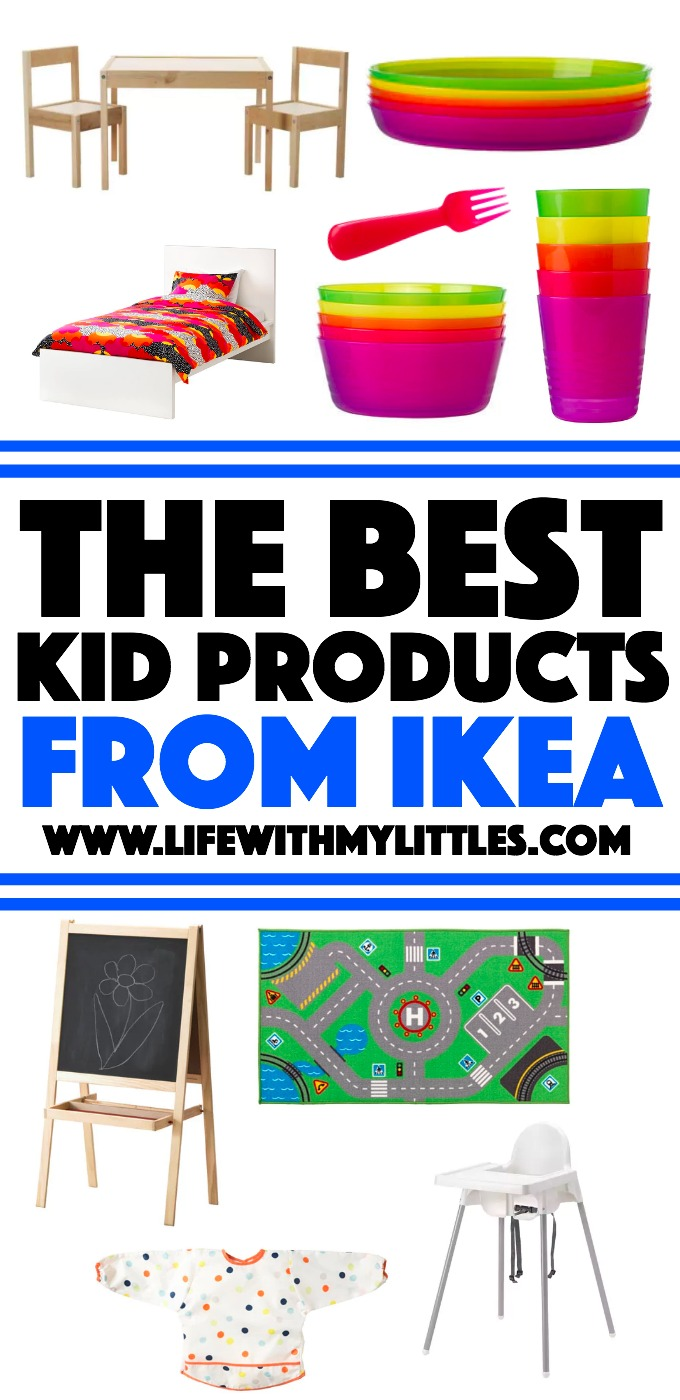 These are definitely the best kids' products from IKEA! If you're wondering what the must-have kids' items from IKEA are, here they are!
