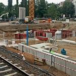 Ostkreuz: Baustelle an der Ostbahn