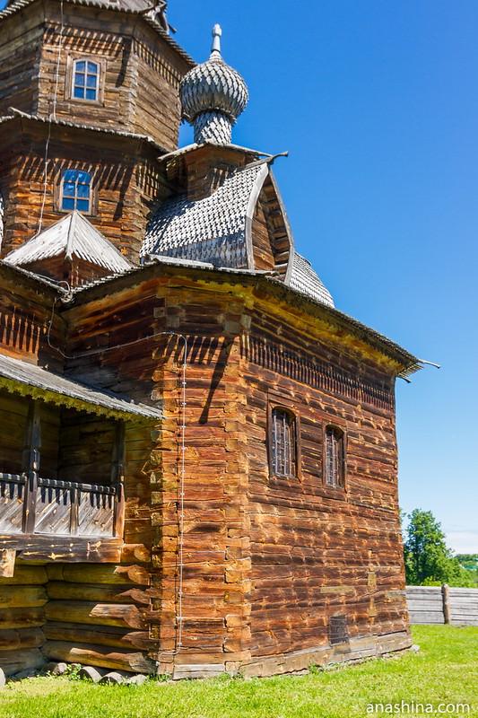Преображенская церковь, Музей деревянного зодчества, Суздаль