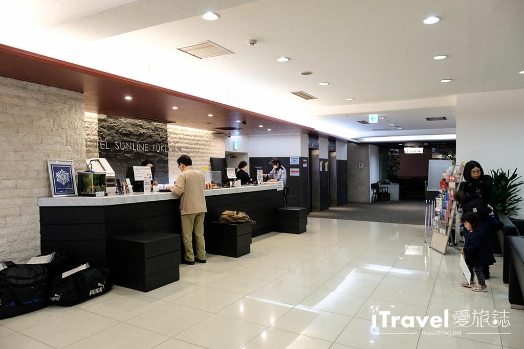 福岡博多站前SUNLINE飯店 Hotel Sunline Fukuoka Hakata-Ekimae (8)