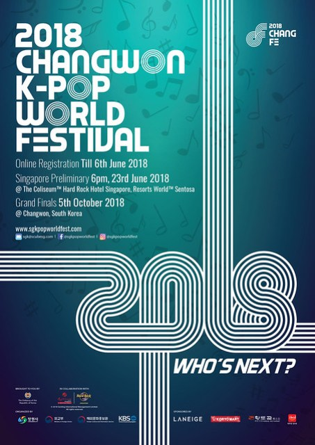 K-Pop World Festival 2018 Singapore Preliminary
