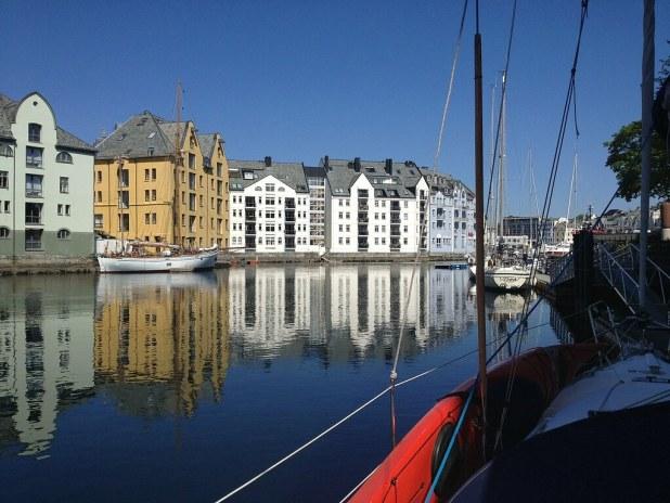 Los canales de Ålesund
