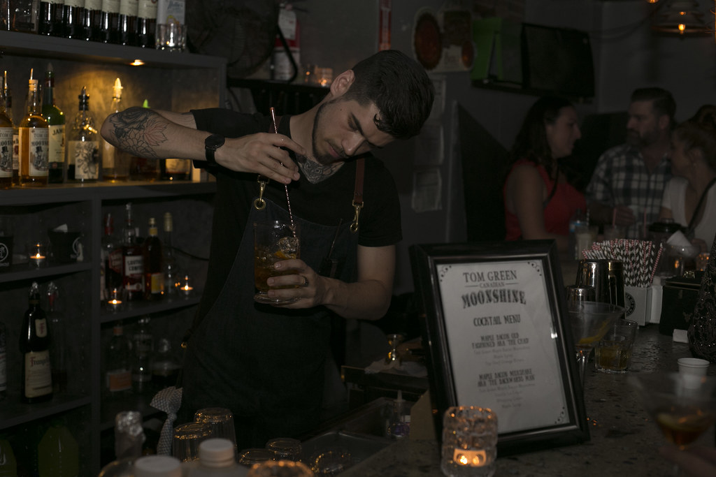 Top Shelf Distillers Launch of Tom Green Canadian Maple Bacon Moonshine