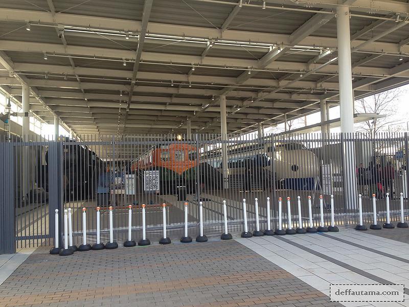 Babymoon ke Jepang - Kyoto Railway Museum 2
