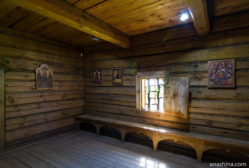 Трапезная, Воскресенская церковь, Музей деревянного зодчества, Суздаль