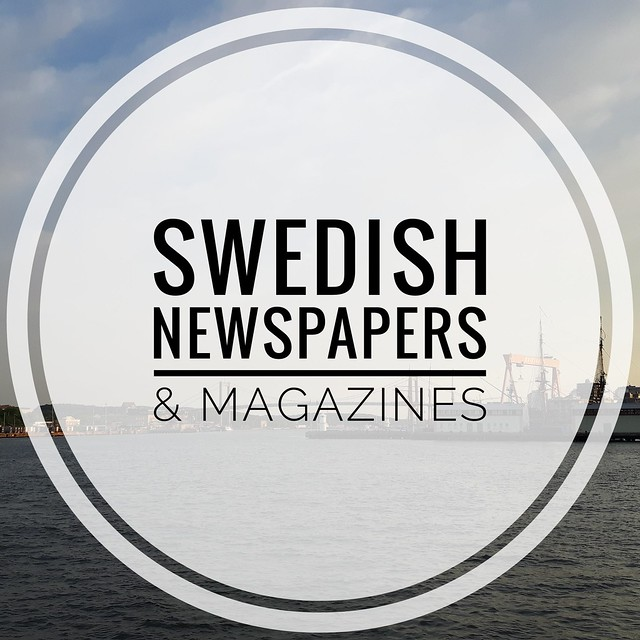 Swedish newspapers magazines