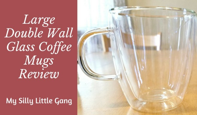 Large Double Wall Glass Coffee Mugs Review My Silly Little Gang