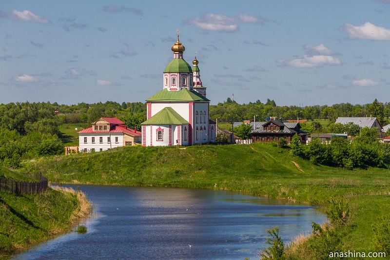 Ильинская церковь, река Каменка, Суздаль
