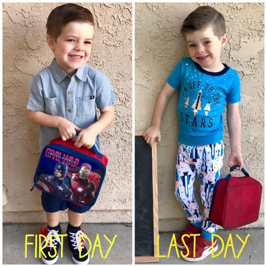 james first day last day 2017 - 2018