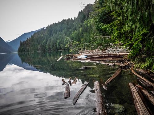 Kayaking on Baker Lake-101