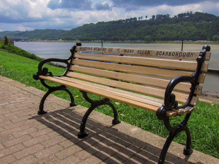 Bench on the Ohio