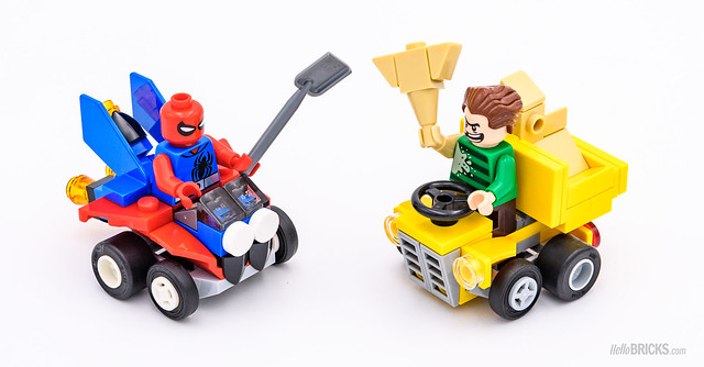 REVIEW LEGO 76089 Marvel Mighty Micros : Scarlet Spider vs Sandman