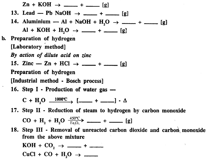 New Simplified Chemistry Class 9 ICSE Solutions - Study of The First Element - Hydrogen 3
