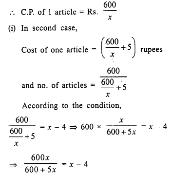 Selina Concise Mathematics Class 10 ICSE Solutions Chapter 6 Solving Problems Ex 6E 2