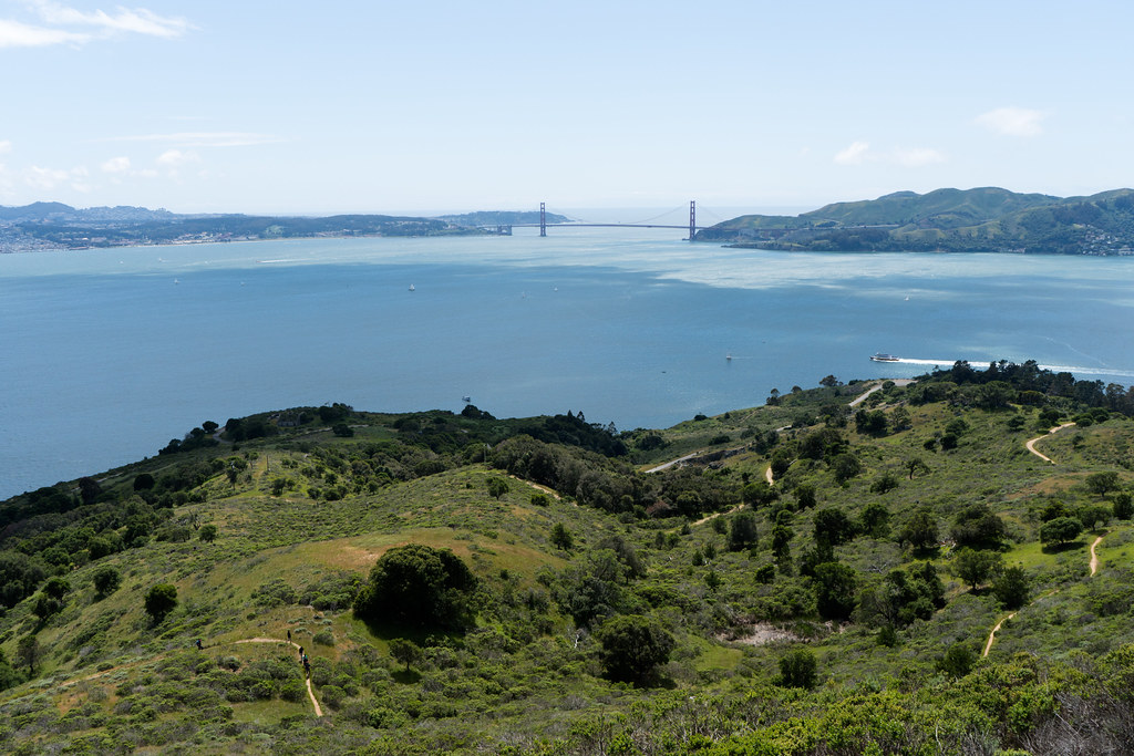 Top of Mt Livermore @ Angel Island!