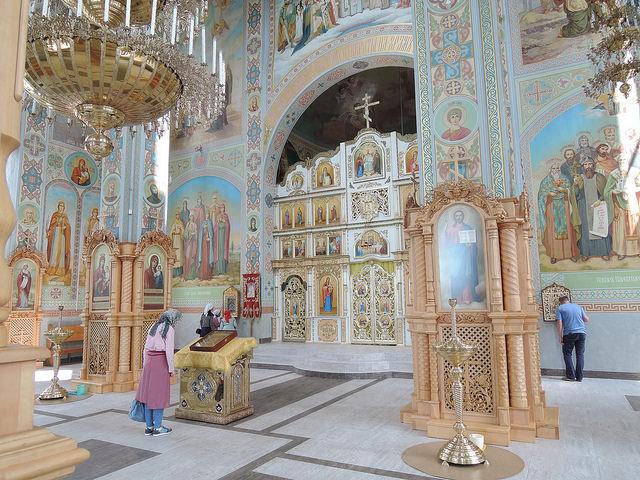 Красногорский мужской монастырь Всех Святых