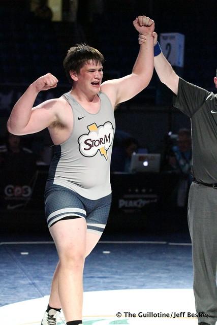 285 pounds Gavin Layton of Minnesota 180719AJF0194