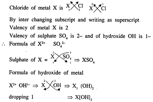 New Simplified Chemistry Class 9 ICSE Solutions - The Language Of Chemistry