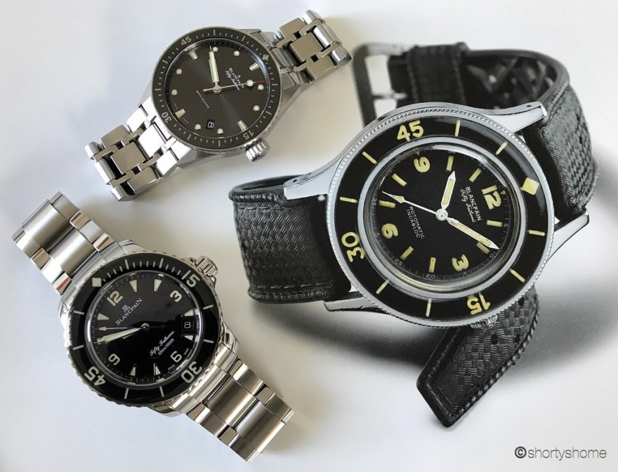 Fifty Fathoms ref 5015-1130-71 and Fifty Fathoms Bathyscaphe ref 5000-1110-70