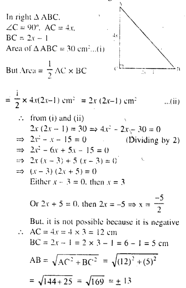 Selina Concise Mathematics Class 10 ICSE Solutions Chapter 6 Solving Problems Ex 6B 1