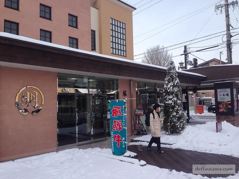 Babymoon ke Jepang - Hidagyu Maruaki