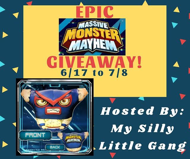 EPIC Massive Monster Mayhem Giveaway