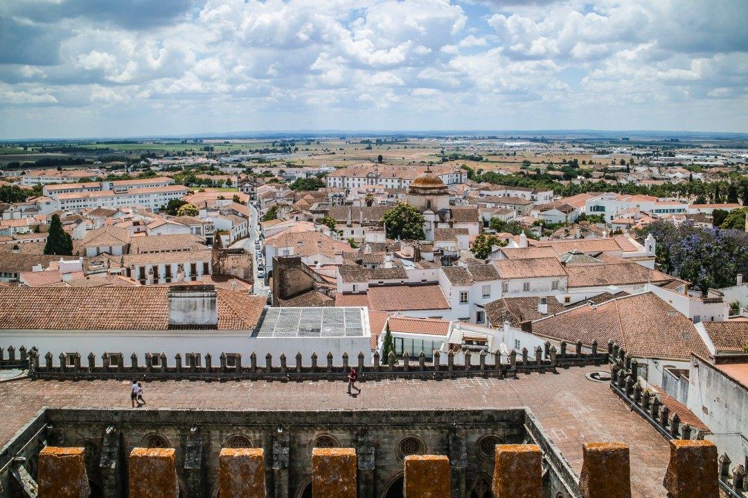 Vista dalla Cattedrale di Evora