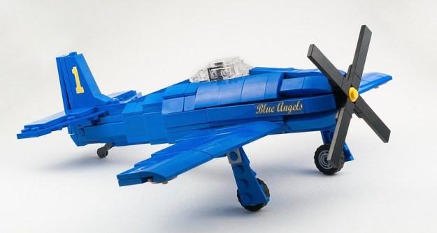 蓝色天使F8F-1熊蜂[主]